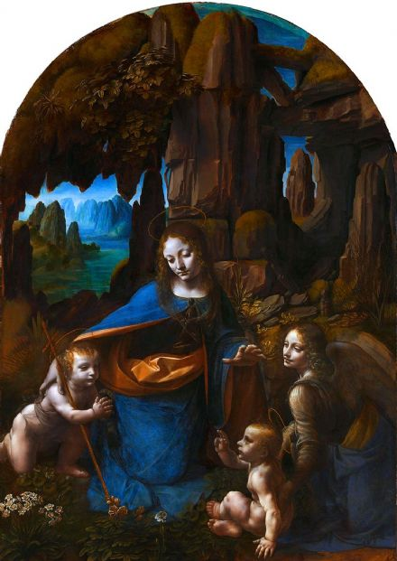 Da Vinci, Leonardo: The Virgin of the Rocks. Fine Art Print/Poster (5469)